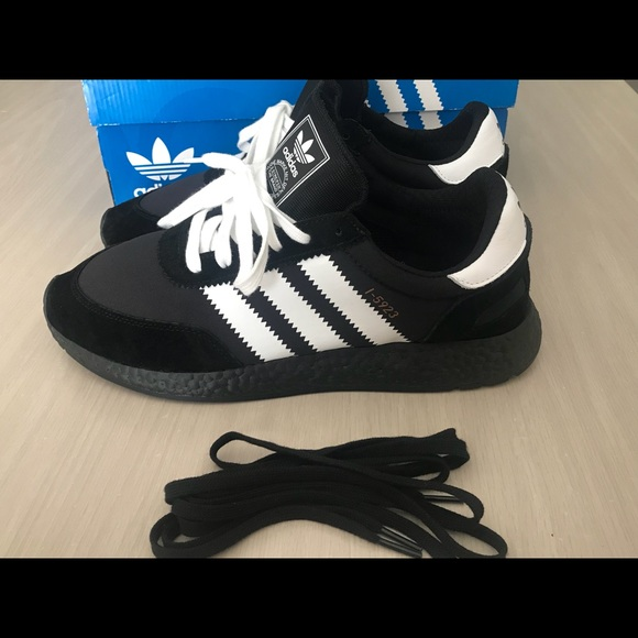 Details about *NEW* Adidas Original Iniki Boost (Men Size 11) Black Running Shoes NMD I 5923